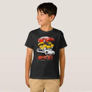 Camisa engraçada do Pileup do carro