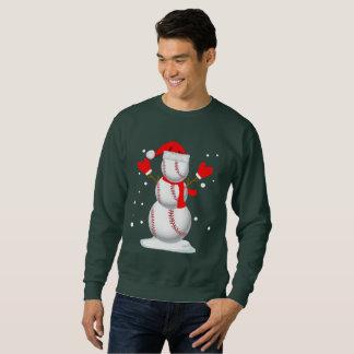 Camisa engraçada do presente do boneco de neve do