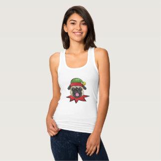 Camisa engraçada do presente do Natal do duende