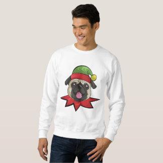 Camisa engraçada do presente do Natal do duende da