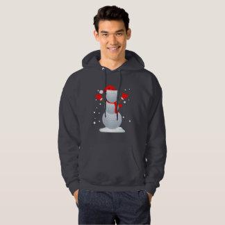 Camisa engraçada do presente do Natal do t-shirt
