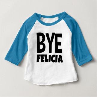 Camisa engraçada do raglan da criança de Felicia
