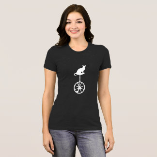 Camisa engraçada do Unicycle para amantes do gato