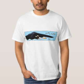 Camisa engraçada dos desenhos animados do tshirt