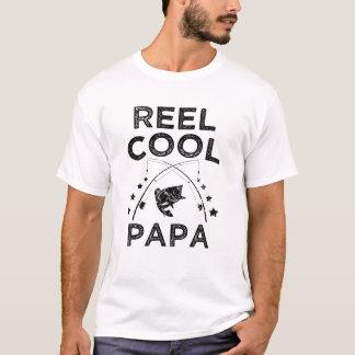 Camisa engraçada dos homens do pescador da papá