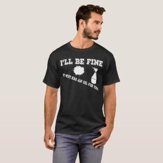 Camisa engraçada dos homens para as esposas que