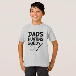 Camisa engraçada dos meninos do amigo da caça do
