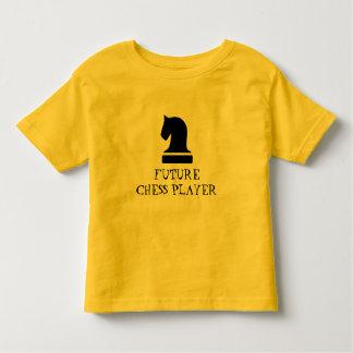 Camisa engraçada futura do bebê do jogador de
