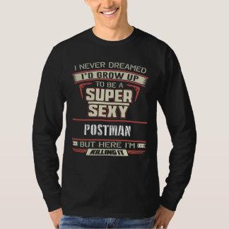 Camisa engraçada para o carteiro. Presente para o