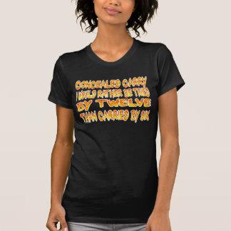 Camisa escondida do carregar T Camiseta