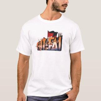 Camisa espanhola do logotipo de CNT-FAI