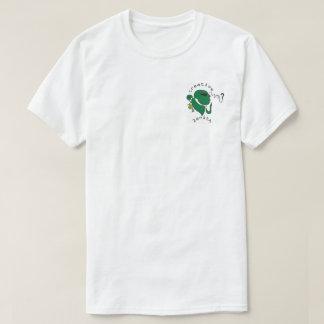 Camisa estrangeira abstrata