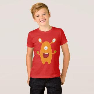 Camisa estrangeira do miúdo T