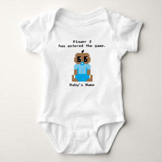 Camisa étnica entrada do bebé de The Game do
