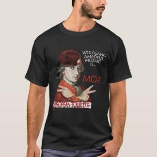"""Camisa européia da excursão de Mozart """"Mo-z"""" (a"""