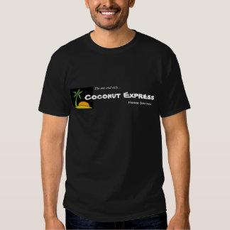 Camisa expressa do chifre do coco tshirt