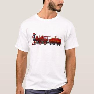 camisa expressa do trem do Natal do Pólo Norte