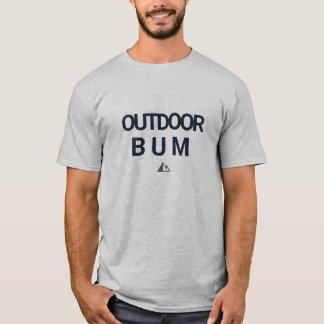 Camisa exterior do vagabundo