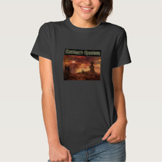 Camisa extinto da nação t t-shirts