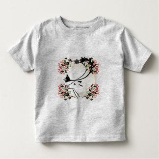 camisa extravagante bonito da criança da flor dos tshirts