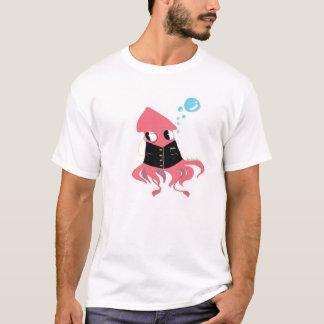 camisa extravagante do calamar