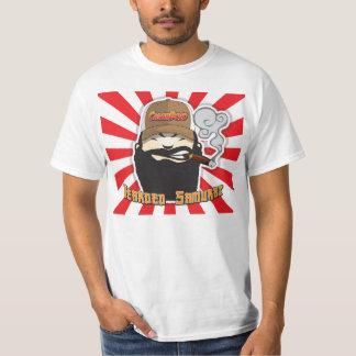 Camisa farpada do Dojo do charuto do samurai