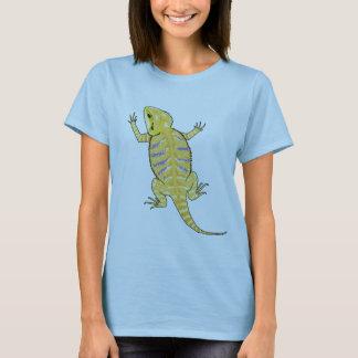 Camisa farpada do dragão (cores claras)