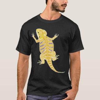 Camisa farpada do dragão (cores escuras do bkg)
