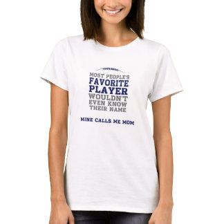 Camisa favorita BG franco da luz do jogador de Camiseta