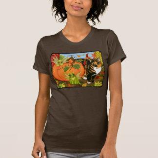 Camisa feericamente da arte do outono da queda das