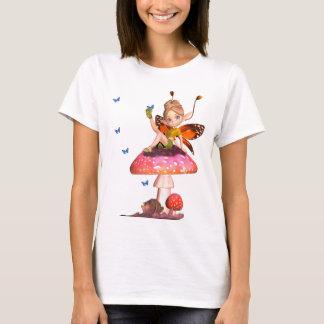 Camisa feericamente das senhoras bonitos T com