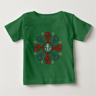 Camisa feia da âncora N.S.Christmas do floco de