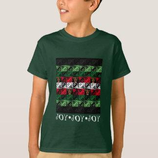 Camisa feia do miúdo do tinir da camisola do