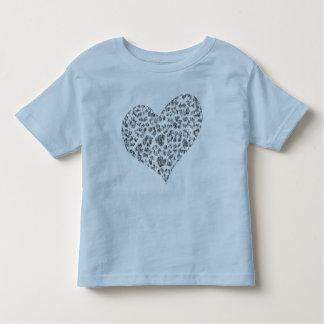camisa feita sob encomenda da criança do coração