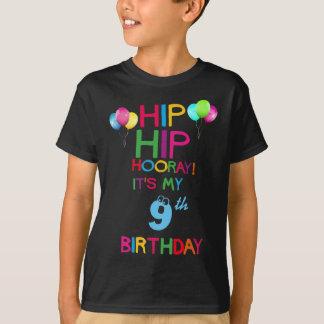 Camisa feita sob encomenda da festa de aniversário