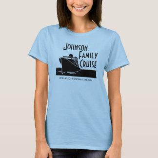 Camisa feita sob encomenda do cruzeiro da família