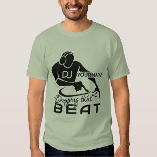 Camisa feita sob encomenda do DJ - escolha o Tshirts