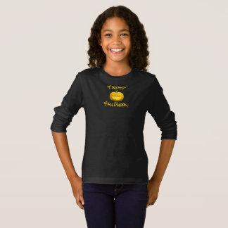 Camisa feliz da abóbora do Dia das Bruxas