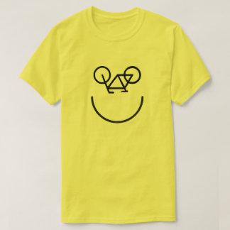Camisa feliz da bicicleta