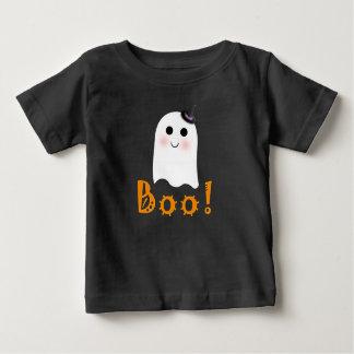 Camisa feliz do bebê do Dia das Bruxas da vaia