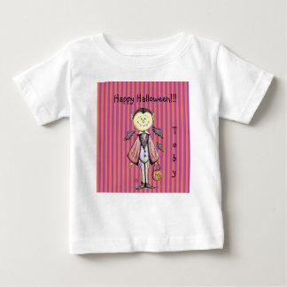Camisa feliz do bebê T do vampiro de Dracula da