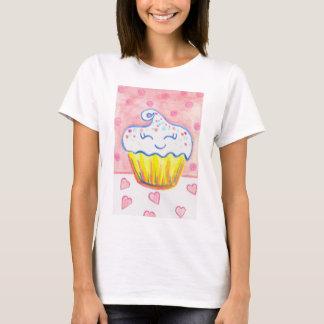 Camisa feliz do cupcake
