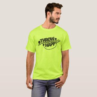 Camisa feliz do lance de martelo do dardo do lance
