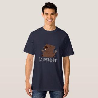 Camisa feliz do primavera de Punxsutawney Phil do