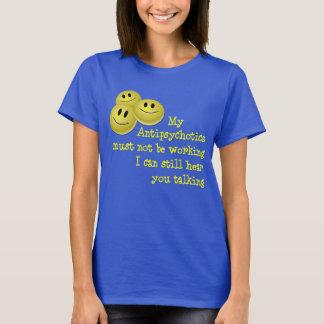 Camisa feliz dos comprimidos