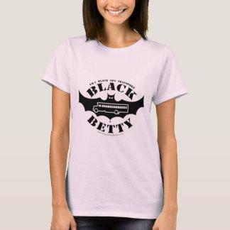 Camisa fêmea preta do fã de Betty