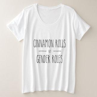 Camisa feminista dos papéis T do género de Rolls
