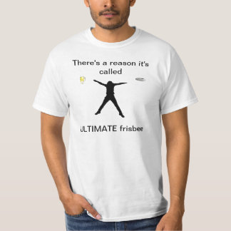 Camisa final do Frisbee T-shirts