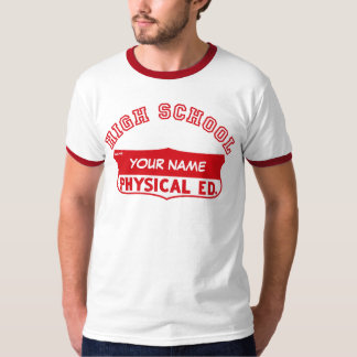 Camisa física retro do Gym de Ed