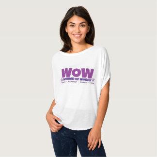 Camisa flowy do wow